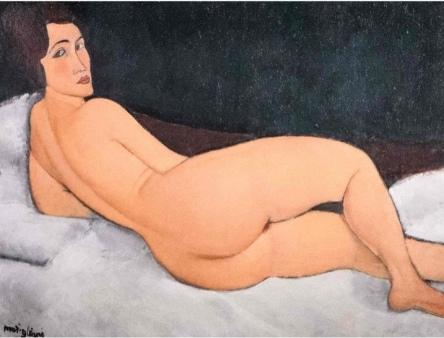 Modigliani Nu touché